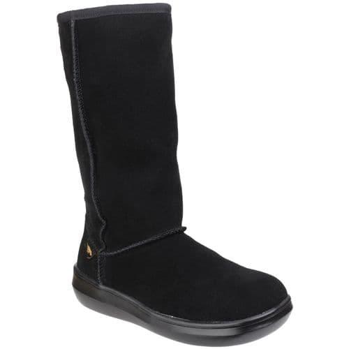 Rocket Dog Sugardaddy Ladies Long Boots Black